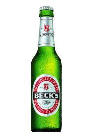 Becks Beer Sing bottle