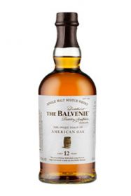 12 years 750ml balvenie the sweet toast ofame